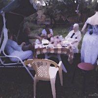 Ужин на даче :: Григорий Кучушев
