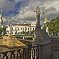 Красногвардейский мост и Никольский собор. :: Senior Веселков Петр