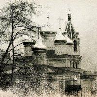 Купола Храма Рождества Иоанна Предтечи :: Андрей Головкин