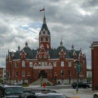 Здание мэрии г.Стратфорд ( 1899 г.). Канада. :: Юрий Поляков
