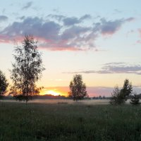 На закате :: Елена Якушина
