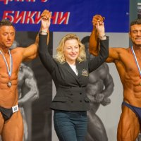 Фото с победителями. :: Виктор Евстратов
