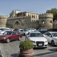 Ичери-Шихер старый город в Баку :: Юрий Яньков