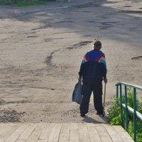 Одинокий прохожий ... :: Святец Вячеслав