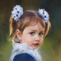 Маленькая школьница :: Анна Бугаева