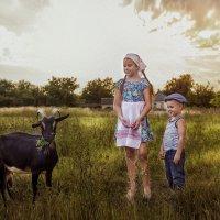 в деревне в поле :: Наталья Владимировна Сидорова