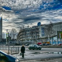 Санкт-Петербург перекресток Светлановского проспекта и Тихорецкого проспекта :: Юрий Плеханов
