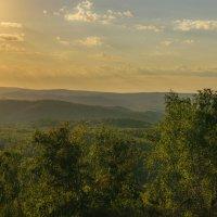 Закат в горах :: Екатерина Агаркова