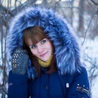 девушка зима :: Светлана Бурлина