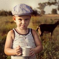 парное молоко :: Наталья Владимировна Сидорова