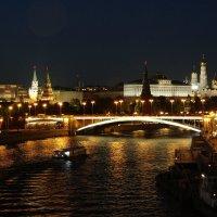 Прогулки по ночной Москве. :: Павел WoodHobby