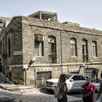 Ичери-Шехер старый город в Баку... :: Юрий Яньков