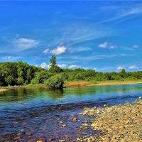 На реке Урюп :: Сергей Чиняев