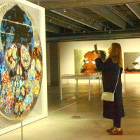 На выставке Такаси Мураками в Москве :: Татьяна Латышева