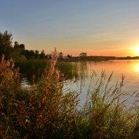 Осенний закат :: Леонид Иванчук