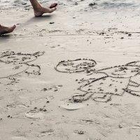 На пляже :: Марина Marina