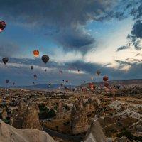 Полет на воздушном шаре :: Юрий Захаров