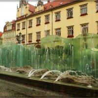 Фонтан в центре Вроцлава :: Galina Belugina