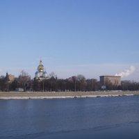 XVII век. Новоспасский монастырь.Вид с Космодамианской наб. :: Анна Воробьева
