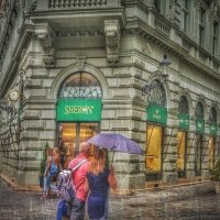 Дождь в Братиславе-2 :: Gene Brumer