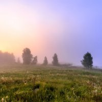 туман за озером :: Василий И Иваненко