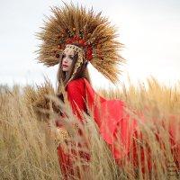 Photosession. Осеняя царица золотых полей. :: Екатерина Бражнова