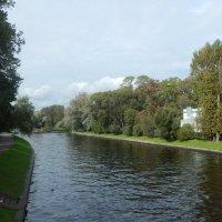 Санкт-Петербург. Каменный остров. Река Крестовка. :: Лариса (Phinikia) Двойникова