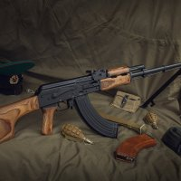 7,62-мм ручной пулемёт Калашникова РПК :: Андрей Филиппов