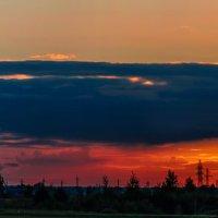 Панорама сентябрьского заката... :: Анатолий Клепешнёв