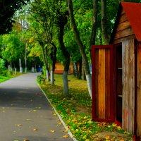 Осенний парк :: Роман Никитин