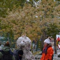 Слепили снеговика :: Savayr