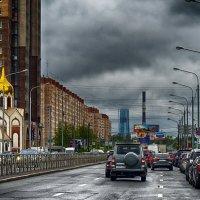 Питер Богатырский проспект Монстра съели тучи :: Юрий Плеханов