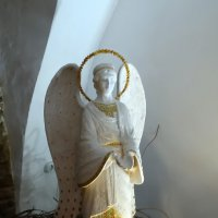 Ангел у  огня... :: Владимир Бровко