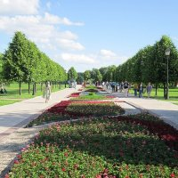 Летом в парке Царицыно :: Дмитрий Никитин