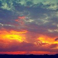 Зарево заката :: Люша