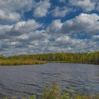 Облака над рекой :: Александр Смирнов