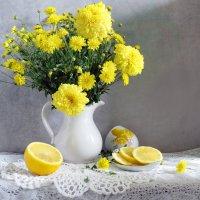 С желтыми хризантемами :: SaGa