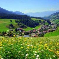 Затерялась деревня средь цветов и холмов... :: Ирина