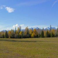 Осень в Тункинской долине :: Анатолий Иргл