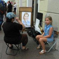 Уличный художник :: Андрей + Ирина Степановы