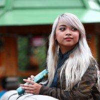 Восточная блондинка. :: Александр Бабаев