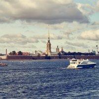 Вид на Петропавловскую крепость. :: Андрей Лобанов