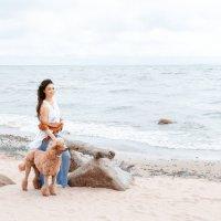 Прогулка по берегу :: Анна Карпенко
