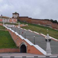 Чкаловская лестница – один из символов Нижнего Новгорода :: Galina Leskova