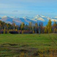 Осень пришла в Тункинскую долину :: Анатолий Иргл