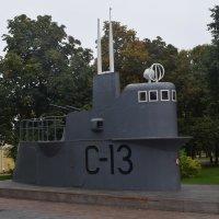 Нижний Новгород. Памятник подводной лодке С-13. :: Galina Leskova