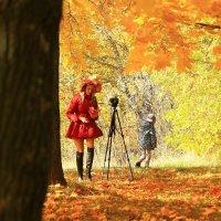 Девушка-Осень :: Татьяна Ломтева
