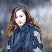 Портрет девушки Кондрациковская Янина :: Жанна Кондрациковская