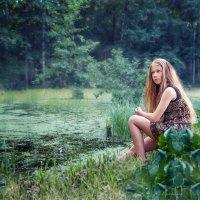 У лесного пруда :: Наталья Мячикова