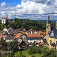 Вид на городок Gössweinstein (Fränkische Schweiz) :: Вальтер Дюк